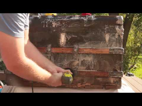 Washing and Oiling Back Trunk Restoration 2