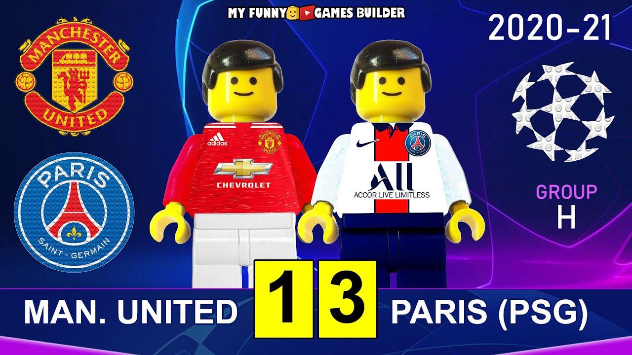 Manchester United vs PSG 1-3 • Champions League 20/21 Paris Saint-Germain  All Goals Highlights Lego - YouTube