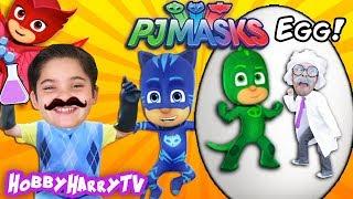 HUGE PJ Masks Surprise Egg + Adventure with HobbyHarryTV!