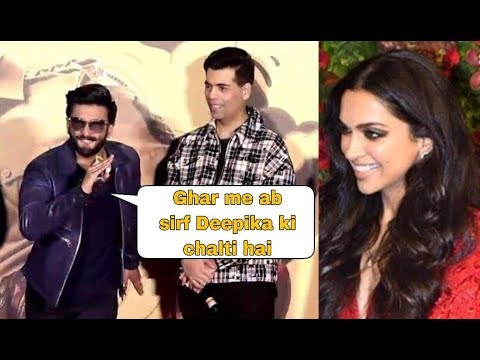 Ranveer Singh Finally Reacts On His Newly Married Life | Ranveer About Wife Deepika Padukone