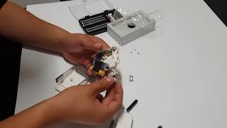 USB충전식 전기면도기 분해영상