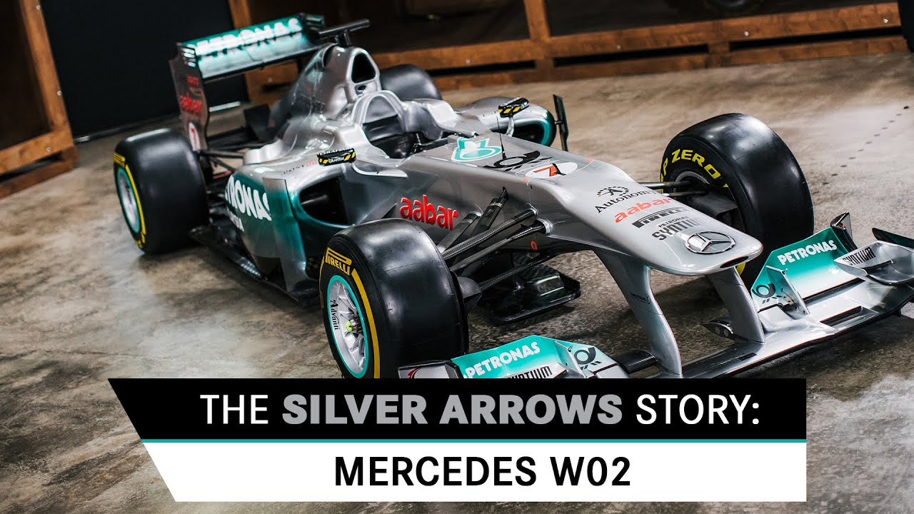 The Silver Arrows Story: Mercedes W02