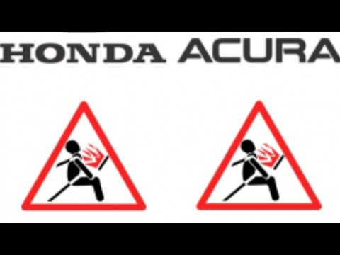 ACURA HONDA TAKEDA AIRBAG RECALL MARCH 2019