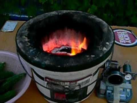 我が家の停電対策  七輪で発電&調理 2010-09-12 blackout