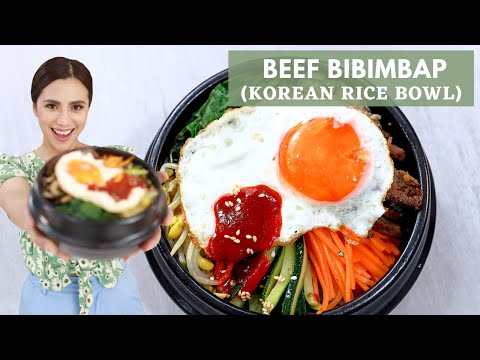 How To Make BiBimbap | Easy Korean Recipes | Bibimbap Sauce Recipe - Chef Sheilla
