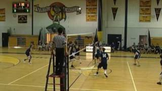 Pope John Vernon boys volleyball 4 24 09