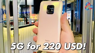 Redmi 10X 5G First Look - 5G Phone for 220 USD!