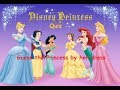 Guess The Disney Princess by her dress QUIZ |Trivia Tv