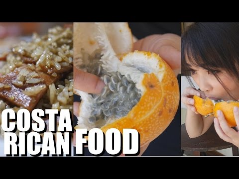 Trying Delicious Costa Rican Food 2016