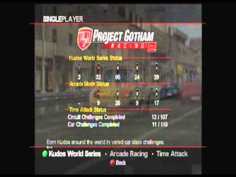 Project Gotham Racing 2 Booster Pack XBOX