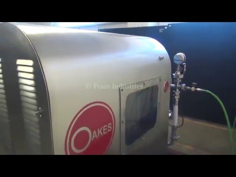 Oakes Stainless Steel Continuous Rotor Stator Pin Mill Mixer Demonstration