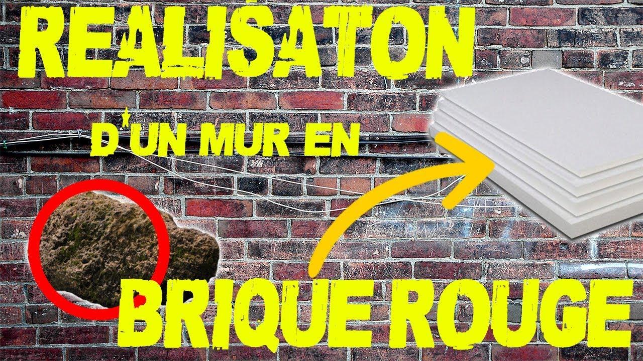 Mur En Brique Rouge réalisation d'un mur en briques rouge [cocodecococoser]