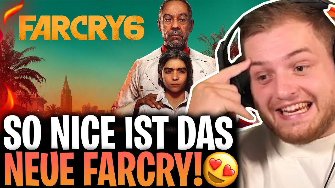 Download 😍😱 Das ERSTE Mal FARCRY 6! |VIEL zu VIELE MISCLICKS und VIEL zu VIEL SPAß im NEUEN STORYGAME!