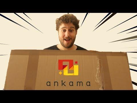 J'OUVRE UN ÉNORME COLIS D'ANKAMA !