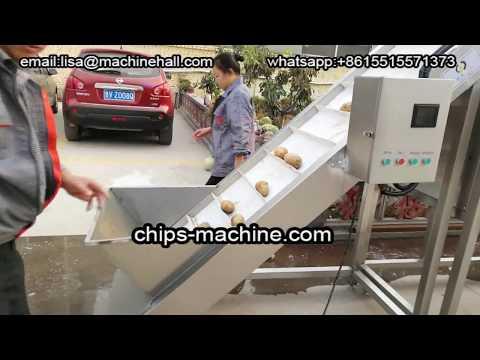China French Fries Processing Plant|Potato Fries Making Machine Video