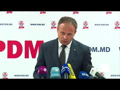 Conferința de presă - Partidul Democrat din Moldova