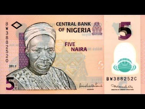 Historia del billete de 5 nairas  Nigeria