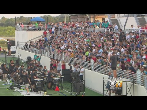 Band Competitors Cope With Oppressive North Texas Heat
