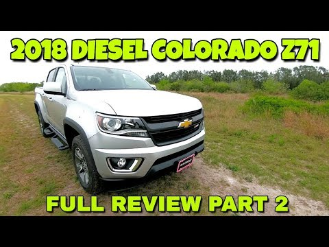 Full Review! 2018 Chevy Colorado Z71 Duramax!