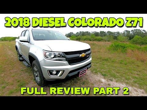 Full Review! 2018 Chevy Colorado Z71 Duramax!