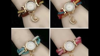 Latest New Stylish & Fashion Wrist Watches Collection For Girls & Women