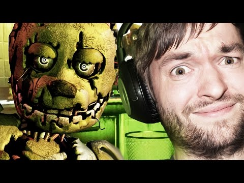 Five Nights At Freddy's 3 - Indie Horror Game - Schleichende Phantome!? - Nacht 2+3