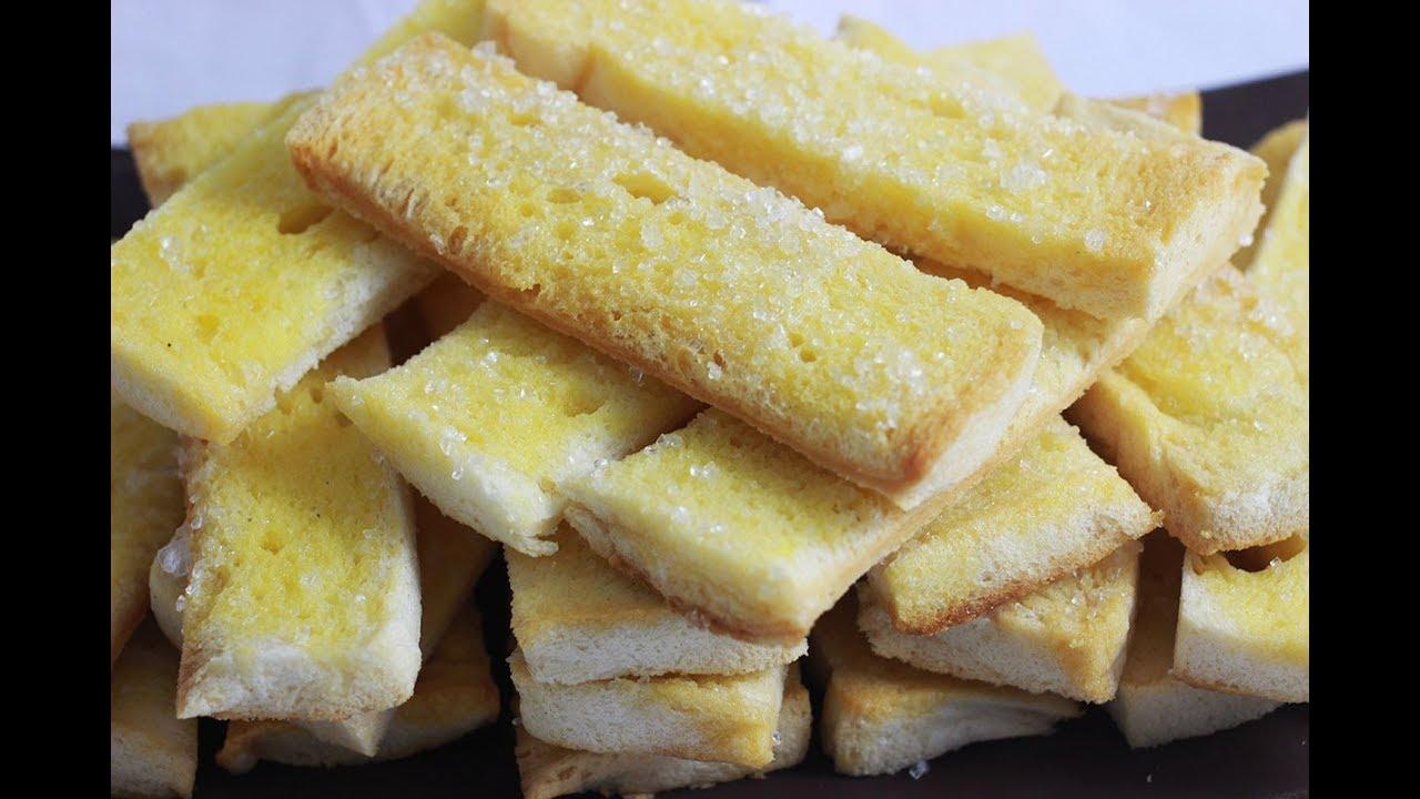 Roti Tawar Hampir Kadaluarsa Jangan Dibuang Buat Roti Kering