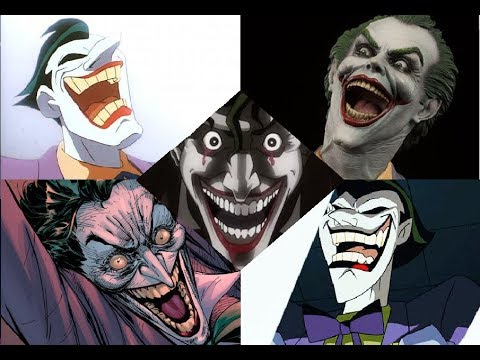 EVERY LAUGH - ULTIMATE Joker Laugh Compilation (MARK HAMILL)