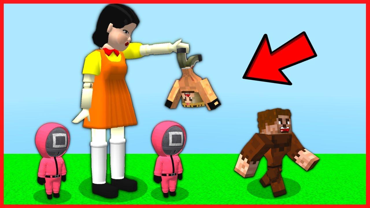 KORKUNÇ KIZ ARDA VE RÜZGAR'I KAÇIRDI! 😱 - Minecraft