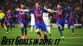 Barcelona Best Goals in 2016/17