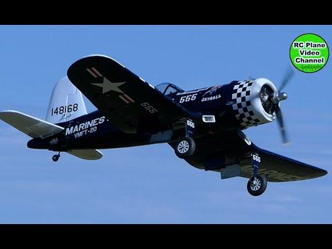 "F4U Corsair - 1/4 XXL Fräser - 3100mm - Moki 250 + 29,6"" 3-Blade Ramoser varioPROP - Markus"