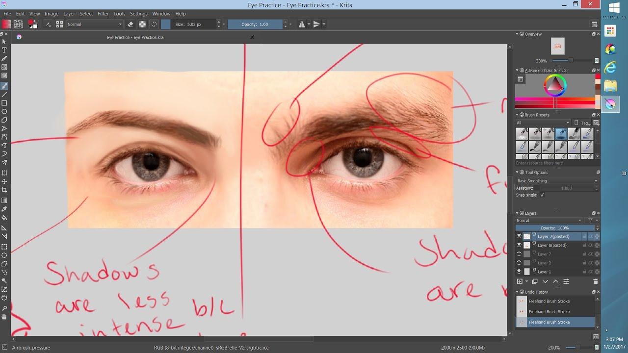 Masculine vs Feminine Eyes! (Study Session #3)