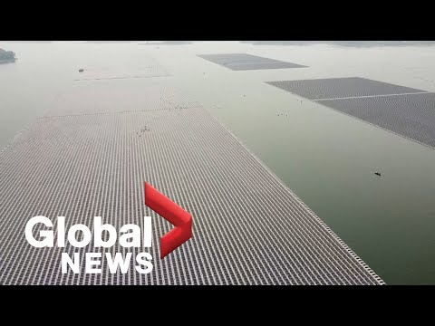 Thailand close to completing world's biggest hydro-floating solar farm