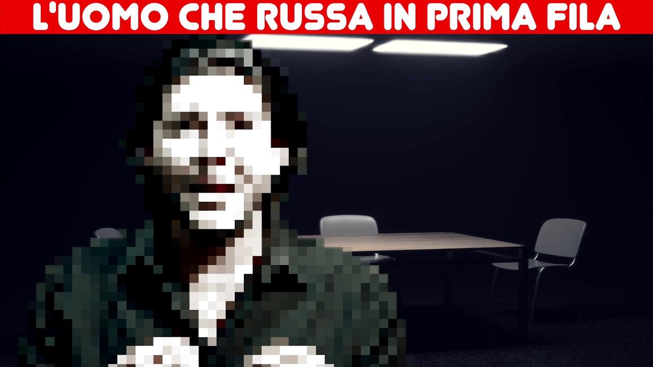 L'UOMO CHE RUSSA IN PRIMA FILA