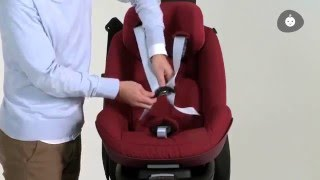 Maxi-Cosi l 2wayPearl car seat l How to install