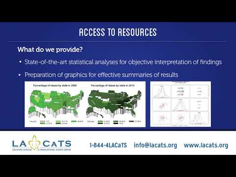 LA CaTS Center Biostatistics & Epidemiology Core