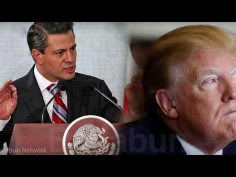 Enrique Peña Nieto se le adelantó a Donald Trump Pinches gringos no se esperaban esta