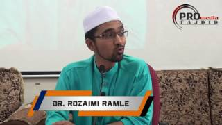 05-06-2016 Dr. Rozaimi Ramle: Mimpi Nabi tentang alamat berpecahnya Umat Islam