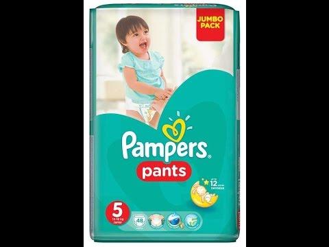 Видео-Обзор №2 трусики Pampers Pants
