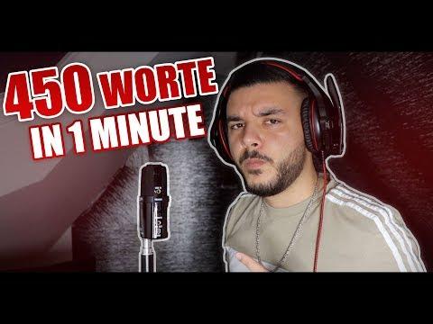 CanBroke | 450 Worte In 1 Minute Rappen! | #Trends Folge 1
