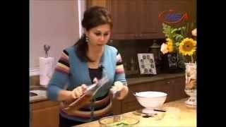 Samira's Kitchen # 12 Part 1 Okra Stew And Rice مرقة باميا ورز