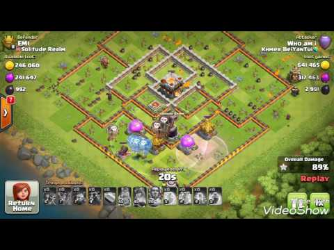 2 PEKKA 17 BOWLER 5 HEALER DESTROY TH11 MAX LEVEL, COC 3 STAR TH11 STRATEGY ATTACHED