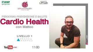 Percorso prevenzione e salute - Cardio Health - Livello 1 - 2 (Live)