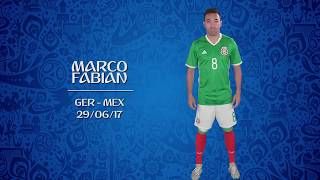 VOTE BEST GOAL: Marco Fabian (MEX) v Germany