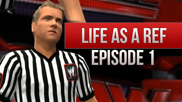 wwe 2k14 story  life as a ref episode 1