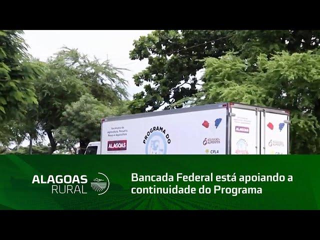 Bancada Federal está apoiando a continuidade do Programa do Leite