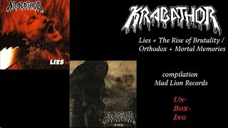 review Krabathor   Lies   The Rise of Brutality   Orthodox    Mortal Memories 2014 Mad Lion Records