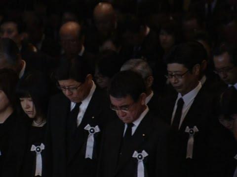 Raw: Japan Remembers Tsunami Victims