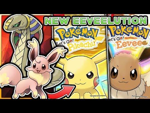 Pokemon Lets Go Pikachu & Lets Go Eevee  NEW Eeveelution & Legendary Pokemon?!