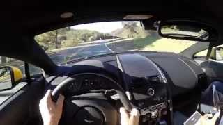 2015 Aston Martin V8 Vantage GT - WR TV POV Canyon Drive